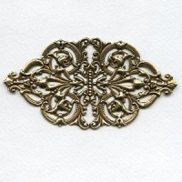 One Spectacular Oxidized Brass Stamping Design (1)