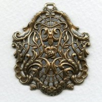 Focal Point Filigree Old World Oxidized Brass 46mm
