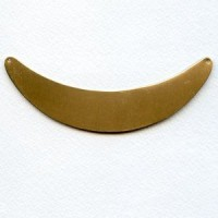 """Necklace Blank Oxidized Brass 4 1/2"""" (1)"""