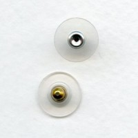 Earring Clutches with Stabilizer Discs Gilt (24)