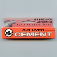G-S Hypo Cement Perfect for Glass Stones