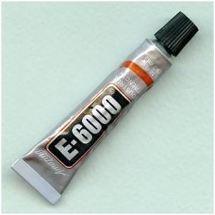 E6000 Industrial Strength Clear Glue .18 OZ Size