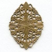 Filigree Fantastic Oxidized Brass Beauty 57mm