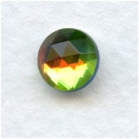 Vitrail Med 7mm Flat Back Faceted Top Jewelry Stones
