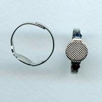Ring Blanks Adjustable Nickel Plated (3)