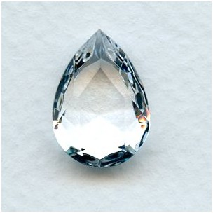 c81284042f11 Clear Crystal Glass Pear Shape Jewelry Stone 18x13mm (1 ...