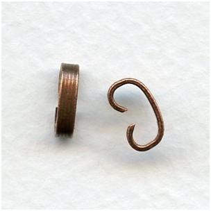 ^Bracelet Connectors Oxidized Copper 7mm (12)