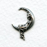 Smaller Goddess in the Moon Oxidized Silver (12)