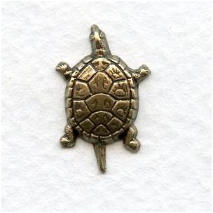 Turtle Designs Oxidized Brass 20mm (12)