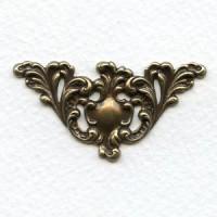 Most Elegant Grand Corner Embellishments Oxidized Brass (4)