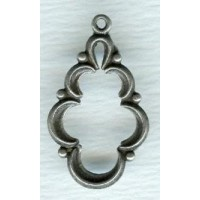 ^Endless Possibilities! Openwork Pendant Oxidized Silver (4)