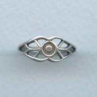 Filigree Design Finger Ring Oxidized Silver (1)