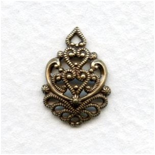 Filigree Connectors Oxidized Brass Function and Beauty (2)