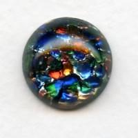 Multi-Color Black Opal Glass Stone 18mm (1)