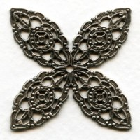 Filigree Splendid Details Oxidized Silver