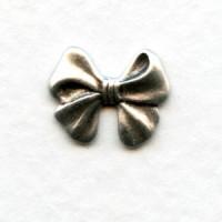 Angel Bows Oxidized Silver 13mm (12)
