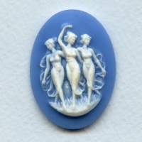 ^Three Muses Cameo White on Blue 40x30mm (1)