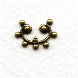 Artsy Little Detail Oxidized Brass 15mm (4)