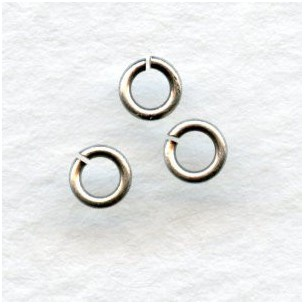 Tiny Nickel Silver Jump Rings Round 3mm