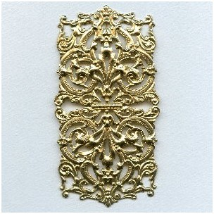 Most Grand of All Raw Brass Stamping 5+ Inches (1)