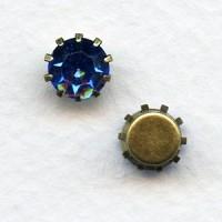 ^Tiffany Set Swarovski Austrian Crystals 35SS Sapphire (6)