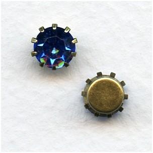 Tiffany Set Swarovski Austrian Crystals 35SS Sapphire (6)