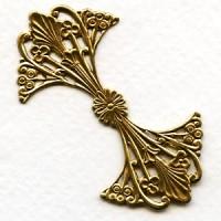 ^Filigree Fantastic Raw Brass 57mm (1)