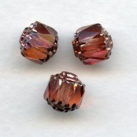 Cathedral Beads Rose Shine 8mm (24)