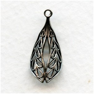 Small Filigrees Made for Wrapping Oxidized Silver (6)