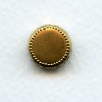 Crown Edge Settings 11mm Raw Brass (12)