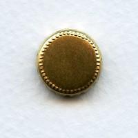 Crown Edge Settings 13mm Raw Brass (12)