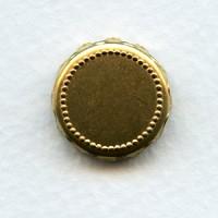 ^Crown Edge Settings 16mm Raw Brass (6)