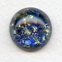 Blue Sea Opal Glass Stone 18mm (1)