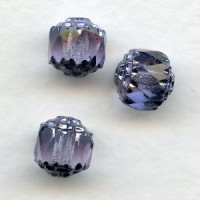 ^Cathedral Beads Violet Shine 8mm (24)