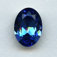 Swarovski Elements Article 4120 Sapphire 18x13mm