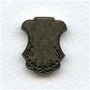 ^Shield Effect Embellishments Oxidized Silver (4)