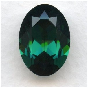 Swarovski Elements Article 4120 Emerald 18x13mm