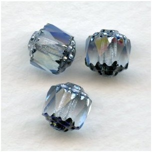 Cathedral Beads Light Sapphire Shine 8mm