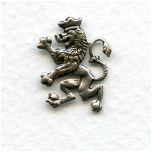 The Scottish Lion 18mm Oxidized Silver (12)