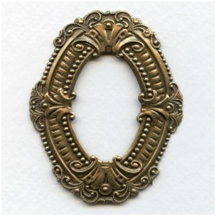 Elegant Framework Oxidized Brass 70mm (1)