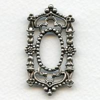 Splendid Gothic Framework Piece Oxidized Silver (1)