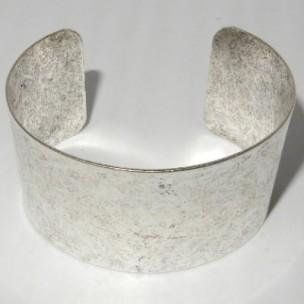 Oxidized Silver Cuff 37mm