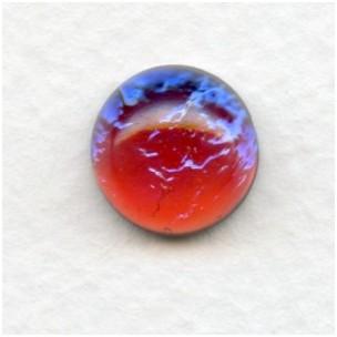 Dragon Breath Mexican-Opal Glass Cabochon 13mm (1)