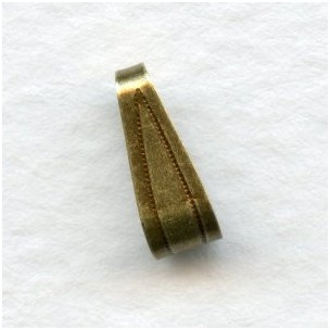 Large Bails Oxidized Brass Easy to Use 10mm