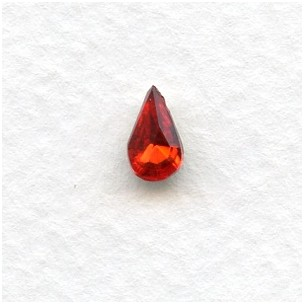 ^Ruby 8x5mm Pear Shaped Stones (12)