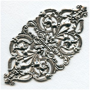 One Spectacular Oxidized Silver Stamping Design (1)