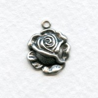 The Rose Pendants Oxidized Silver (6)