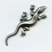 Gecko Stamping Oxidized Silver 58x22mm (1)