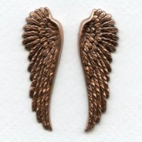 Spectacular Wings Oxidized Copper 52mm Tall (1 Set)