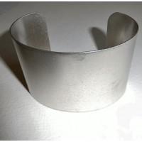 Men's Wide Cuff Oxidized Silver 49mm (1)